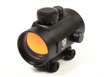 Nikko Stirling NRD50IM Red Dot Reflex Sight with Weaver/Picatinny base mounts